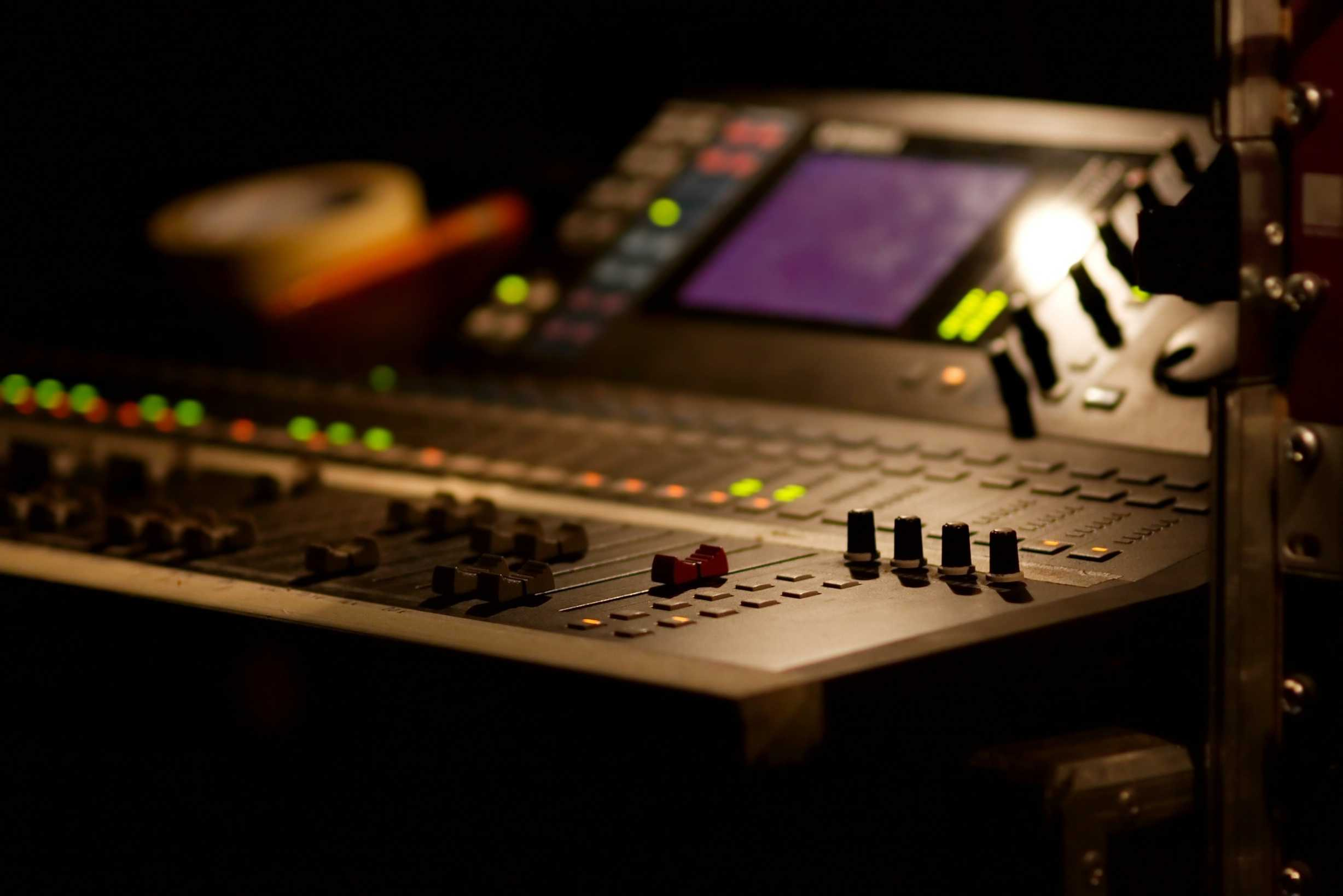 Theatre Sound Desk