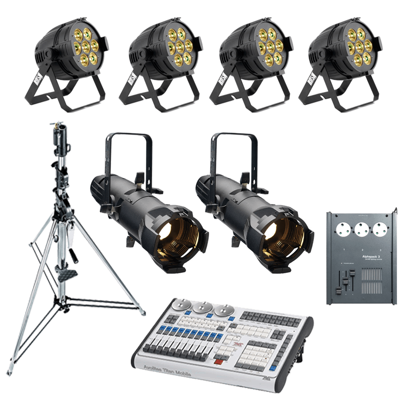 Band Lighting Package 1
