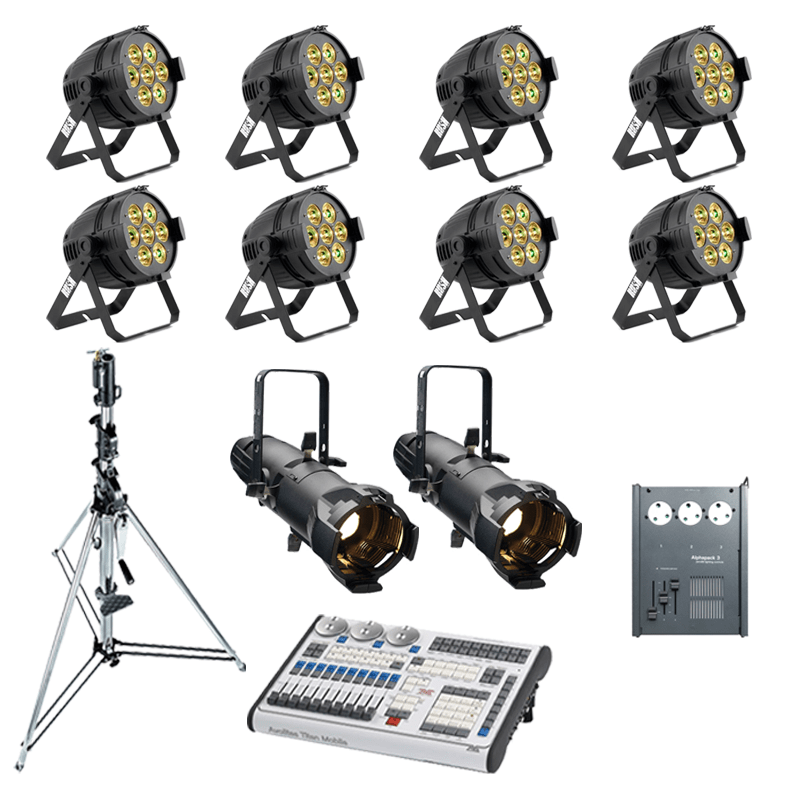 Band Lighting Package 2