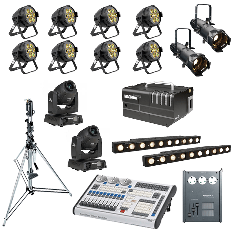 Band Lighting Package 3
