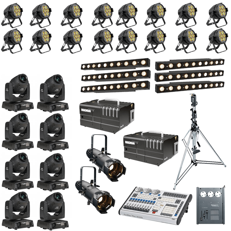 Band Lighting Package 4